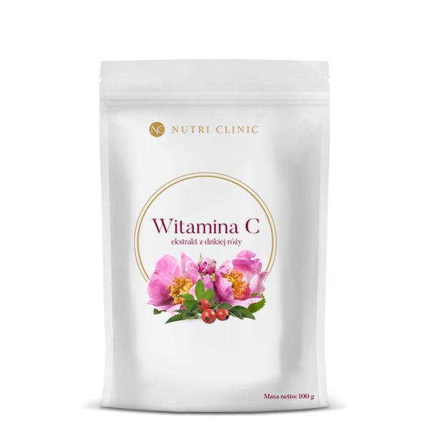 Naturalna Witamina C w proszku – ekstrakt z dzikiej róży.